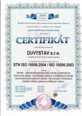 STN ISO 10006:2004 / ISO 10006:2003